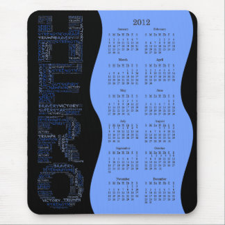 2012 Breast Cancer Hero of the Year Calendar Mousepads