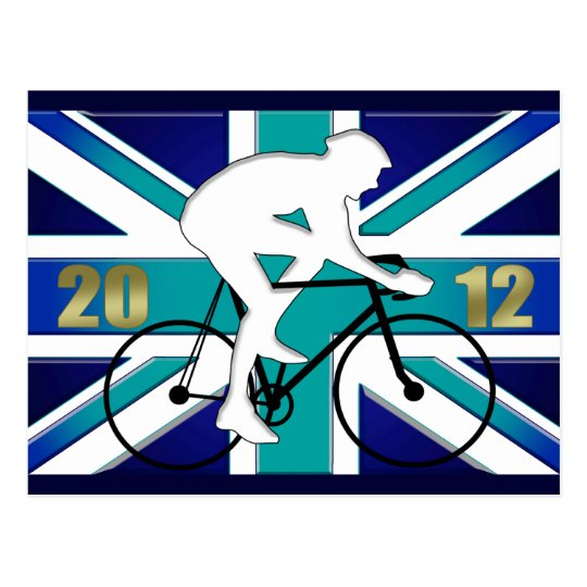 2012 British Cycling Bicyle lover Cycle Postcard