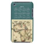 2012 Calendar Template iPod Case-Mate Case
