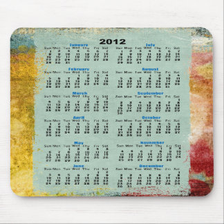 2012 calender mousepads