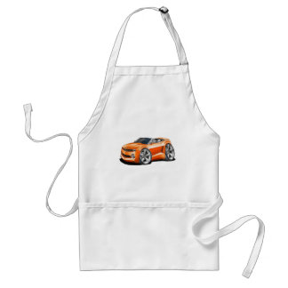 2012 Camaro Orange Convertible Standard Apron