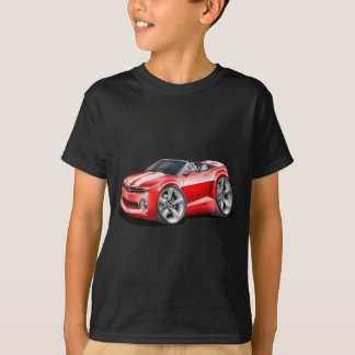 2012 Camaro Red-White Convertible T-Shirt