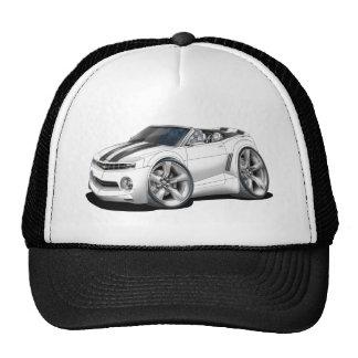 2012 Camaro White-Black Convertible Cap