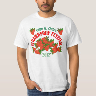 2012 Cape St. Claire Strawberry Festival Tshirt