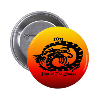 2012 Chinese New Year Dragon Buttons