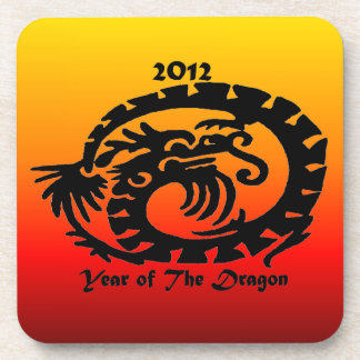 2012 Chinese New Year Dragon Drink Coasters
