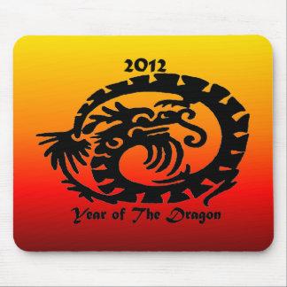 2012 Chinese New Year Dragon Mousepad