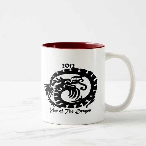 2012 Chinese New Year Dragon Mugs