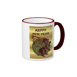 2012 Chinese New Year of the Dragon Vietnamese Coffee Mugs
