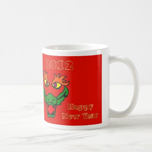 2012 Chinese New Year of the Dragon Vietnamese Coffee Mug