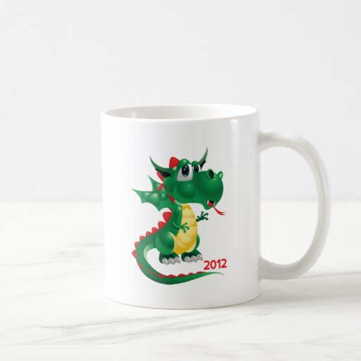 2012 Chinese New Year, The Year of The Dragon Mug