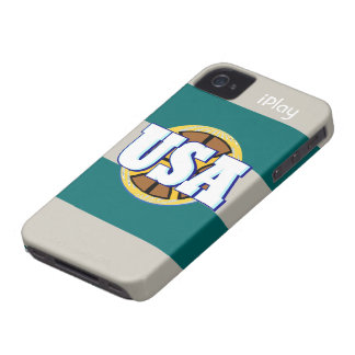 2012 Cool USA Sports Basketball iPlay iPhone Case iPhone 4 Cases