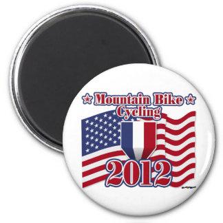 2012 Cycling Mountain Bike 6 Cm Round Magnet