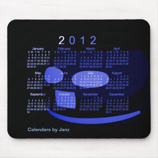 2012 Desk Calendar Mouse Mat