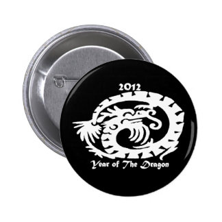 2012 Dragon Celebrating Chinese New Year Button