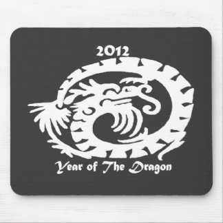 2012 Dragon Celebrating Chinese New Year Mouse Pads