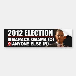 2012 Election - Anti Obama Bumper Sticker
