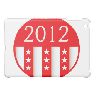 2012 election round seal red version iPad mini case