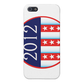 2012 election seal red and blue vote voting iPhone 5 cases