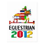 2012: Equestrian Postcards