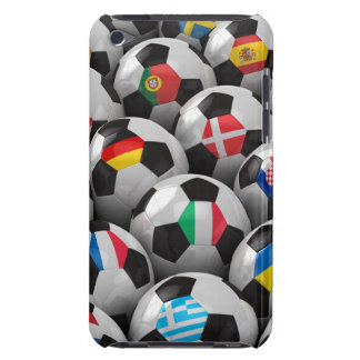 2012 European Soccer Championship Barely There iPod Covers