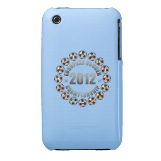 2012 European Soccer Championship iPhone 3 Case