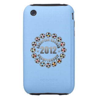 2012 European Soccer Championship Tough iPhone 3 Covers