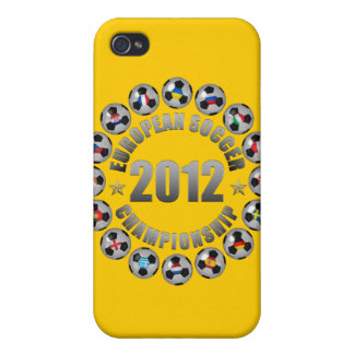 2012 European Soccer Championship iPhone 4/4S Case