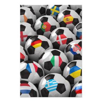 2012 European Soccer Championship Photo Print