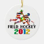 2012: Field Hockey Ornament
