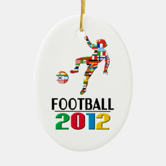2012: Football Ornament