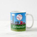 2012 Fun Personalised Baseball Mug Boy Sports Gift