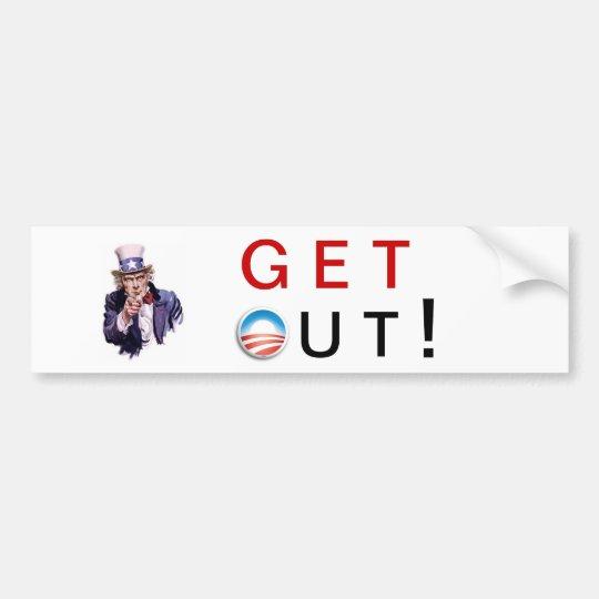 2012 Get Out Bumper Sticker