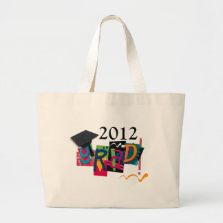 2012 Graduate - GradGear by Cheryl Daniels Jumbo Tote Bag