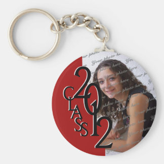 2012 Graduation Keepsake Basic Round Button Key Ring