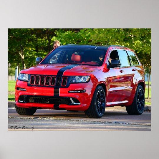 2012  Grand Cherokee SRT8 Poster