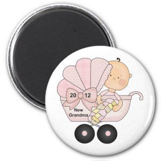 2012 Grandma (pink) Fridge Magnets