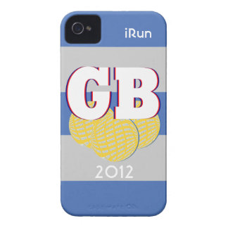 2012 Great Britain Sports iRun iPhone Case Gift iPhone 4 Case