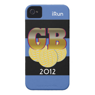 2012 Great Britain Sports iRun iPhone Case Gift iPhone 4 Cover