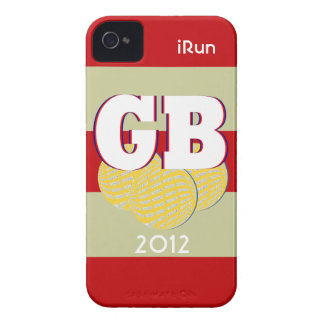 2012 Great Britain Sports iRun iPhone Case Gift iPhone 4 Cases