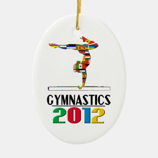 2012: Gymnastics Ornament