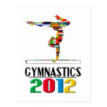 2012: Gymnastics Postcards
