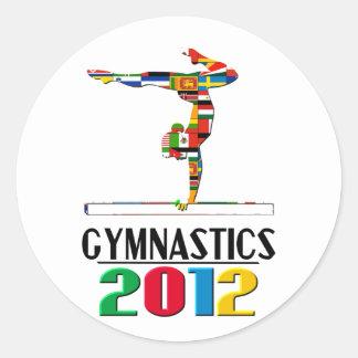 2012: Gymnastics Stickers