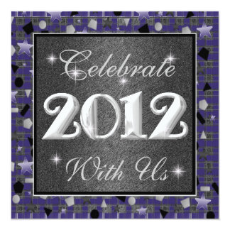 2012 Happy New Year Invitations Celebrate With Us