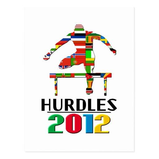 2012: Hurdles Post Cards