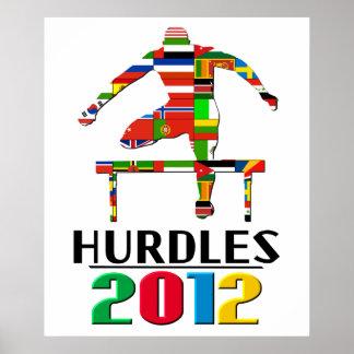 2012 Hurdles Poster