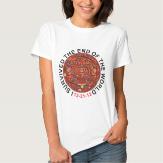 2012 I Survived End of the World T Shirts