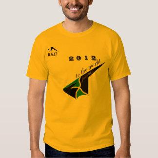 2012 Jamaica Gold Olympic Tshirt