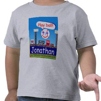 2012 Kids Sports Personalized Baseball Tshirt Gift