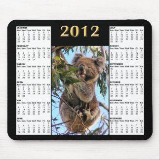 2012 Koala Calendar Mousepad
